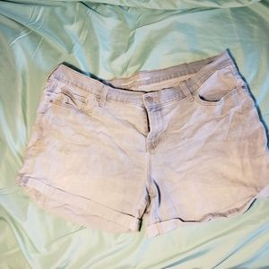 Old Navy Shorts - Light wash denim shorts